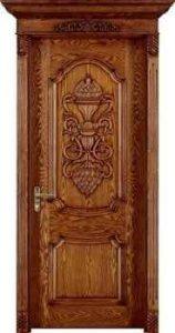 درب تمای چوبی داخلی