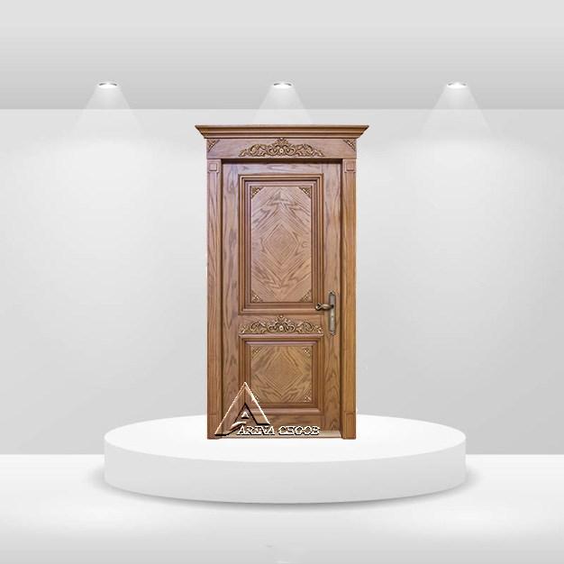 درب چوبی کلاسیک W01