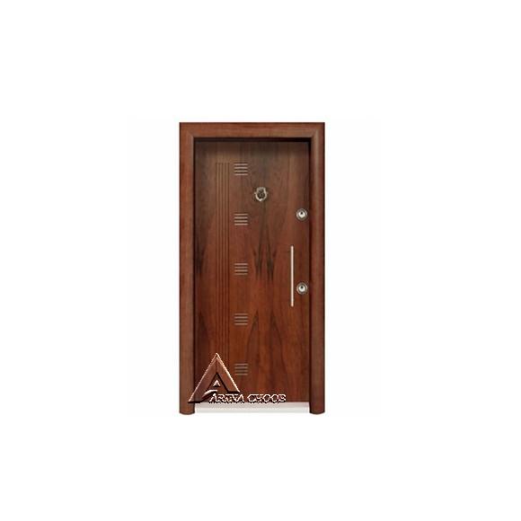 درب ضدسرقت پانل چوبی