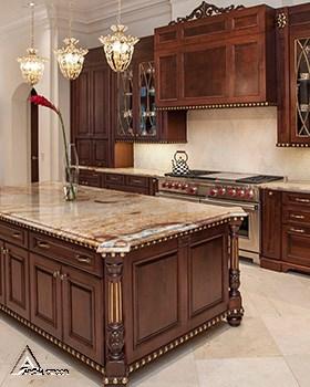 کابینت چوبی کلاسیک