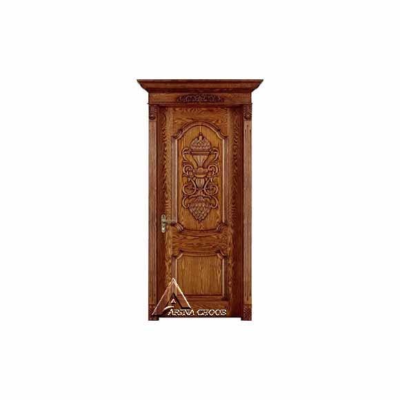 درب چوبی کلاسیک W03
