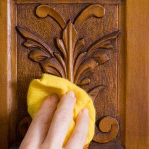 ضد عفونی درب چوبی و دکوراسیون چوبی در دوران کرونا