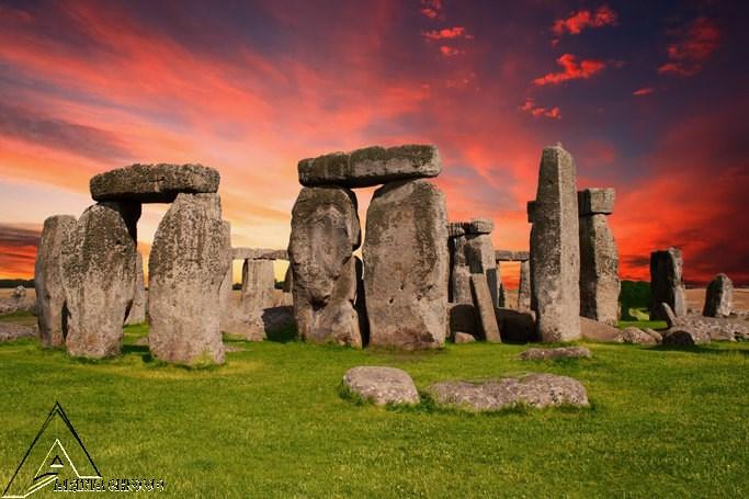 استون هنج ، ca. 3100 سال قبل از میلاد - 2200 سال قبل از میلاد ویلتشر ، انگلیس