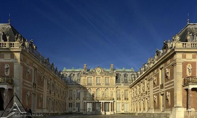 کاخ ورسای ، 1631-1634 ، ورسای ، فرانسه