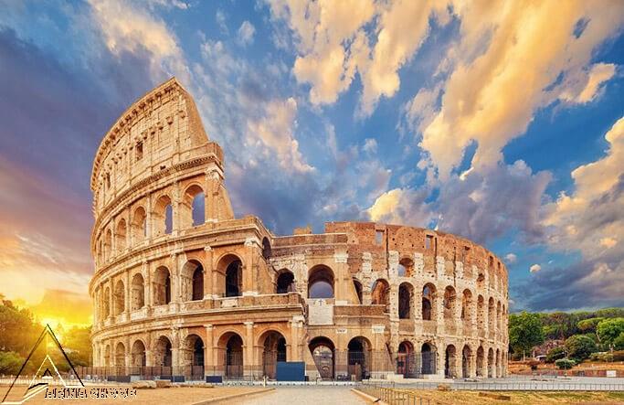 کولوسئوم ، 72-80 میلادی ، رم
