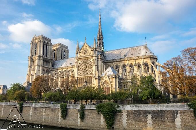 نوتردام پاریس ، 1163 - 1345 ، فرانسه