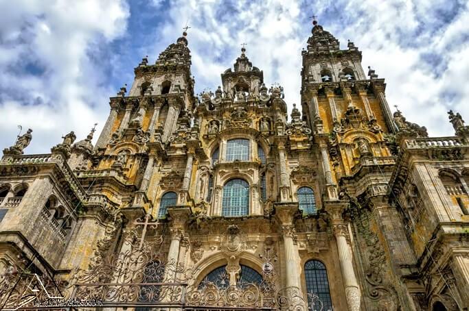 کلیسای جامع سانتیاگو دو کامپوستلا ، اسپانیا