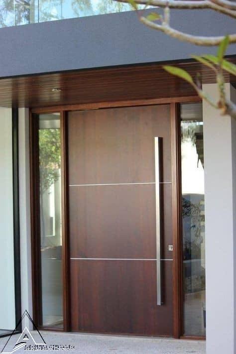 درب ویلایی ورودی ساختمان